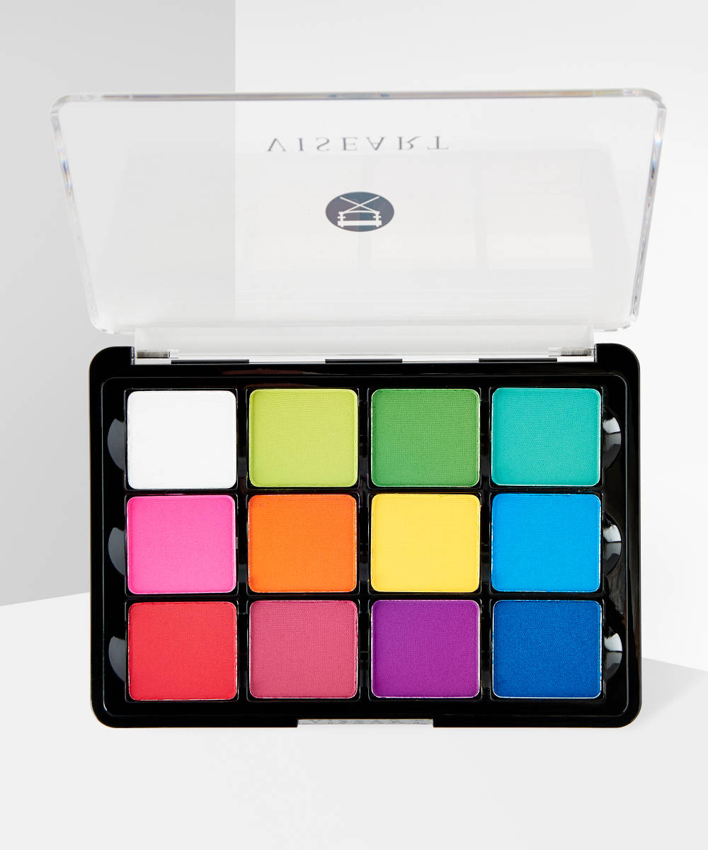 08 Editorial Brights Matte Eyeshadow Palette