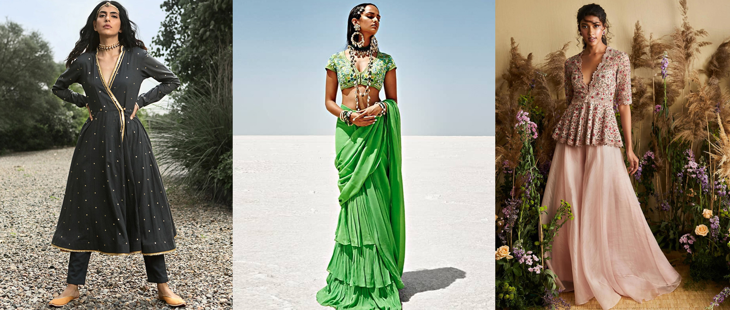 Step Into Festive Season With These Contemporary Indian Ensembles