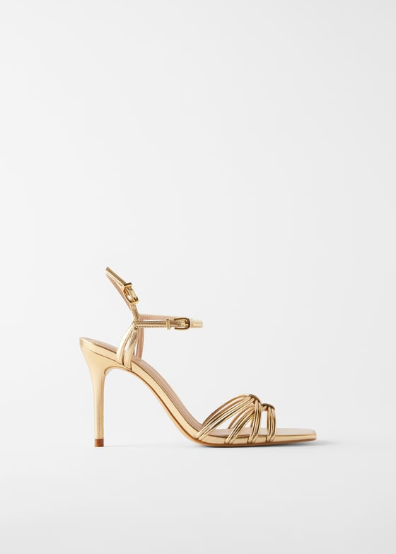 High Heel Sandals With Tube Straps