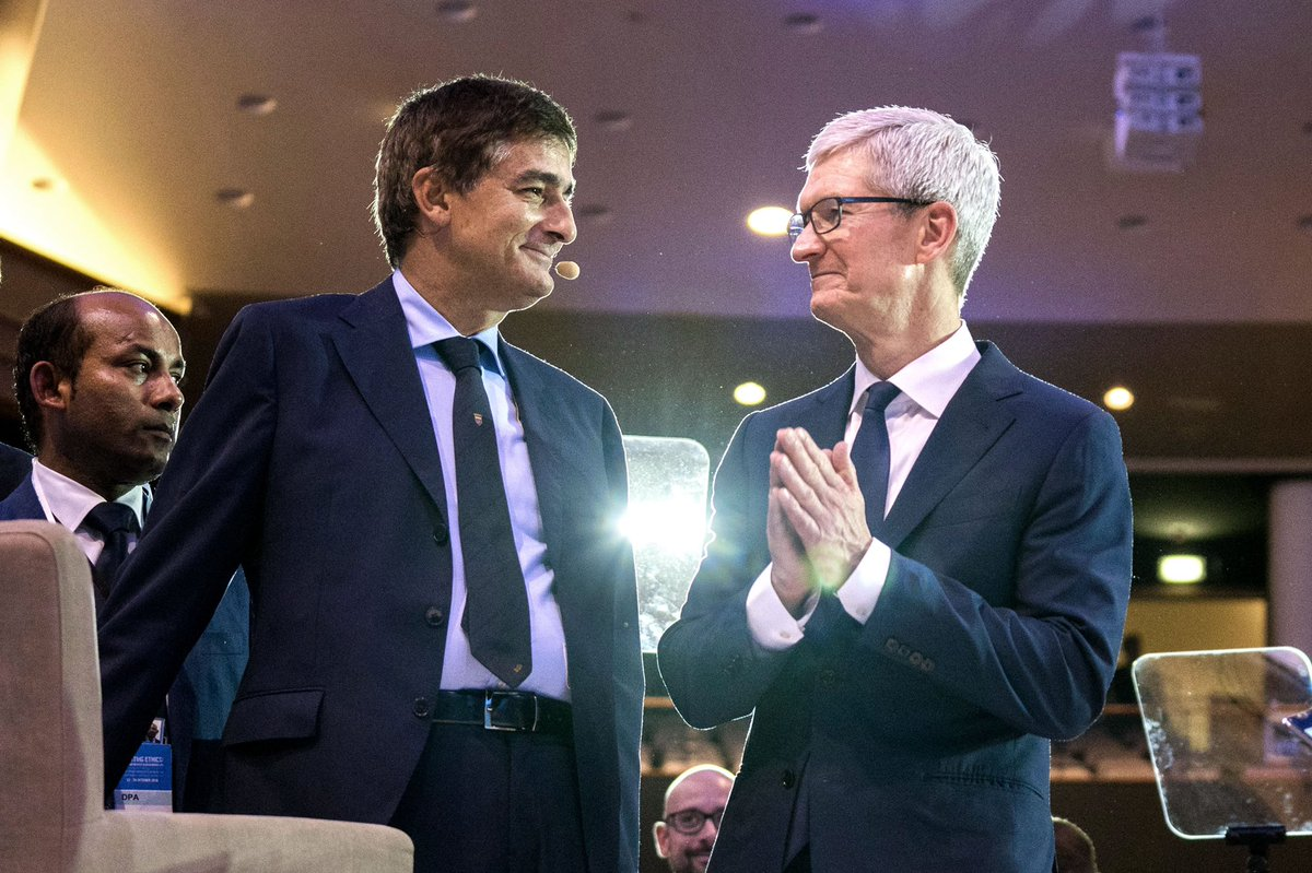 Image Courtesy: Tim Cook on Twitter