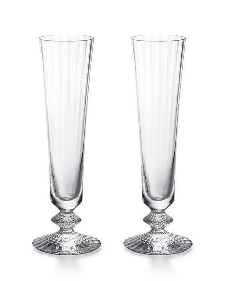Mille Nuits Champagne Flutes