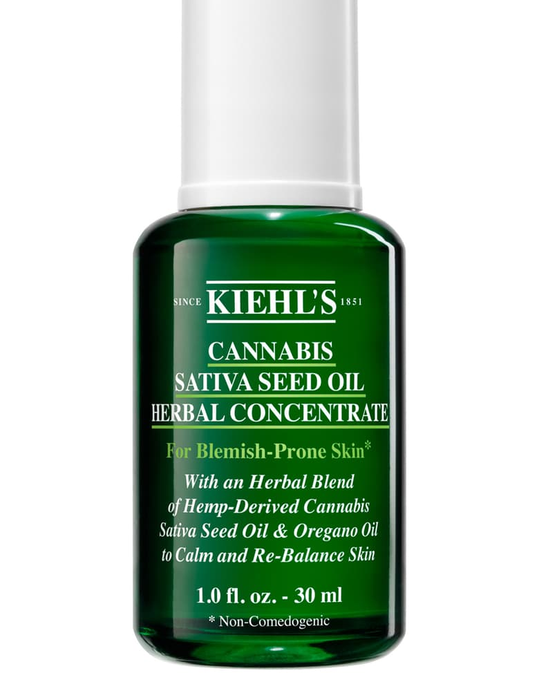 Cannabis Sativa Seed Oil Herbal Concentrate Hemp-Derived
