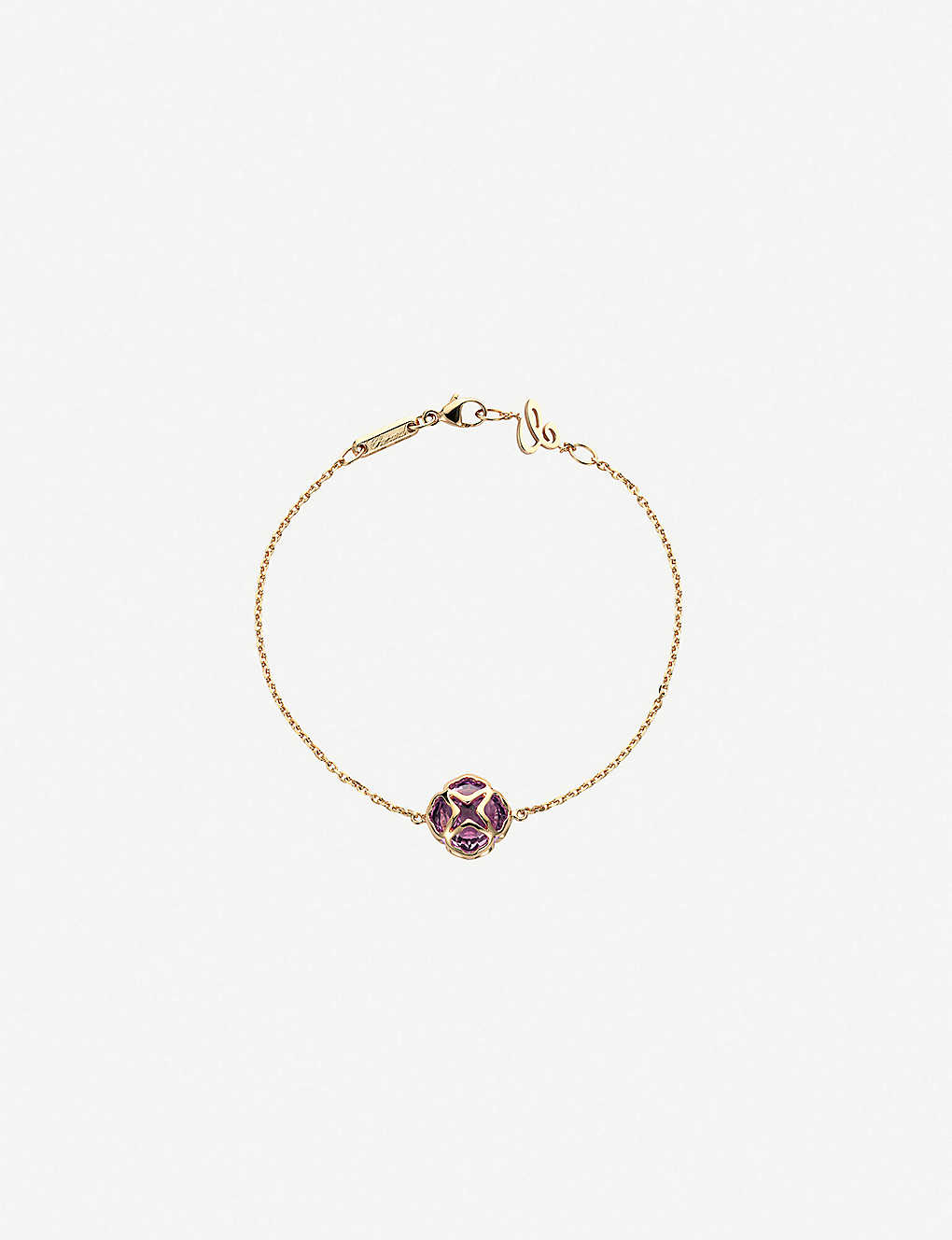 Imperiale 18ct Rose-Gold and Amethyst Bracelet