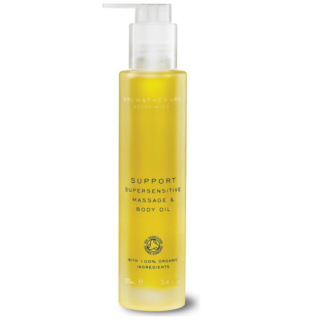 Aromatherapy Associates Support Supersensitive Massage and Body Oil