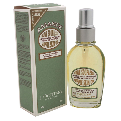 L'Occitane Smoothing & Beautifying Almond Supple Skin Body Oil