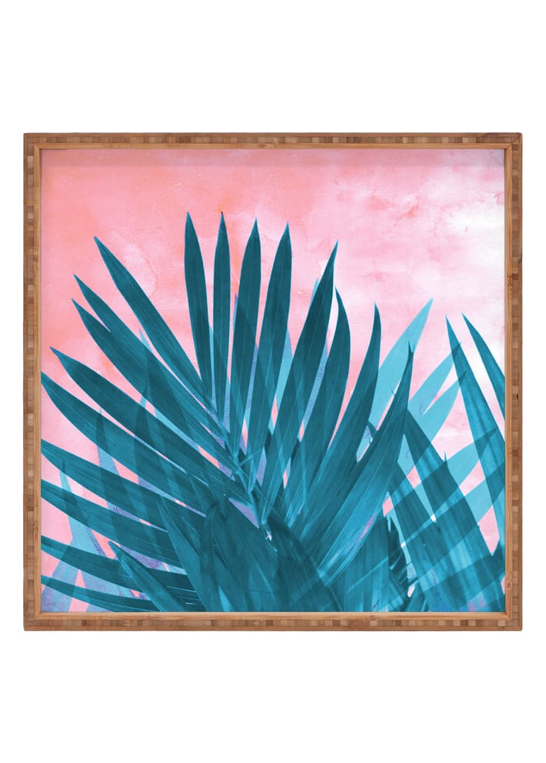 Emanuela Carratoni - Palms Decorative Tray