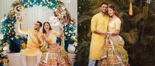 Vibrant Outfits & Dazzling Smiles: Inside Pics From Gauhar-Zaid's Beautiful Haldi Ceremony