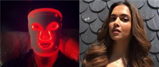 What's That On Deepika Padukone's Face? Say Hello To LED Light- Therapy Face Masks