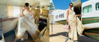Kangana Ranaut's Latest Look For Thalaivi Promotions Is A Lesson In Grace & Timeless Style
