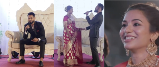 This Groom Surprised His Bride By Singing The Most Romantic Medley Ever & We're Swooning!