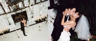 Like A Fairytale: Pics From Ariana Grande's Intimate Wedding Will Have You Dreaming