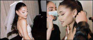 Ariana Grande's Drop-Dead-Gorgeous Wedding Makeup Look Is Out & Here's How To Recreate It