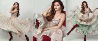Oh Girl! Rubina Dilaik's Latest Shoot In Thigh-high Boots Is Making Us Uncomfortable
