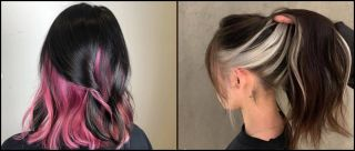 Craving A Beauty Makeover? Take Inspo From This Popular Under-Layer Hair Colour Fad