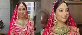 Disha Parmar's Bridal Lehenga Is An Heirloom Treasure & Here's Everything We Love About It