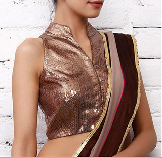 The Best Sari Blouses For Every Body Type