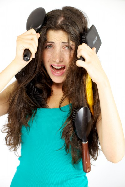 how to stop your hair from getting tangled