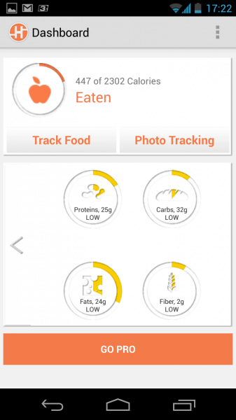 food and diet apps