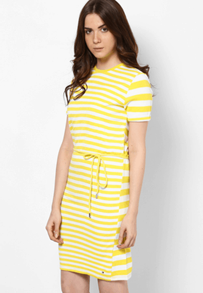 Spring Dresses 9 Tommy Hilfiger Yellow