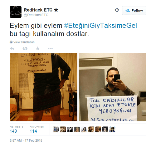 men protest rape in turkey 2