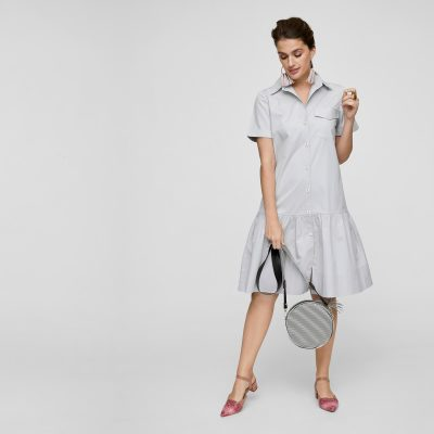 7-what-to-wear-on-first-date-shirt-dress-for-Post-work-Drinks-Date
