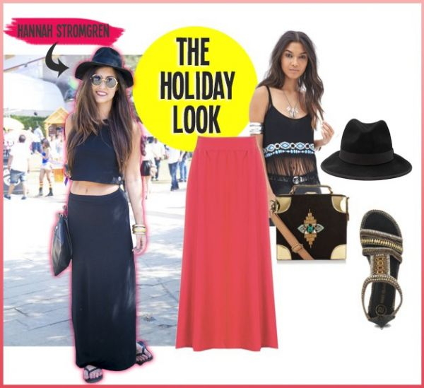 how to style a maxi skirt 2