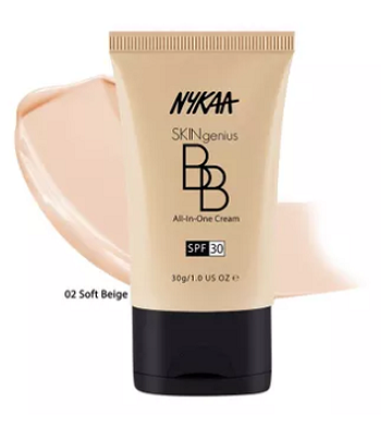 nykaa-skingenius-bb-cream-spf30-best-sunscreen-in-india