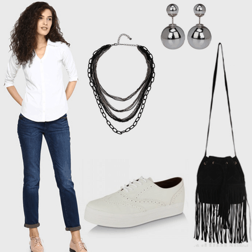style jeans and white shirt 4