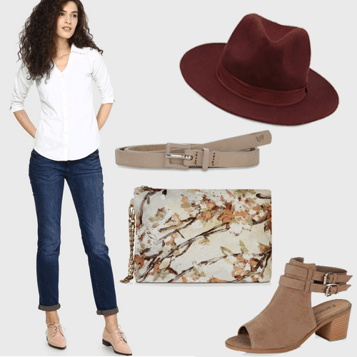 style jeans and white shirt 5