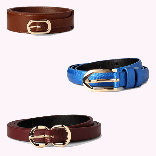 work clothes for women Belts