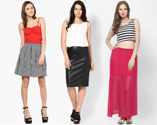 skirts for every body type Pear