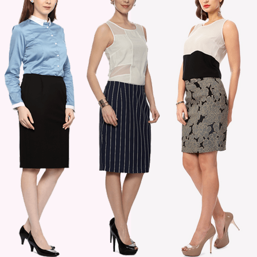 work clothes for women Pencil Skirts