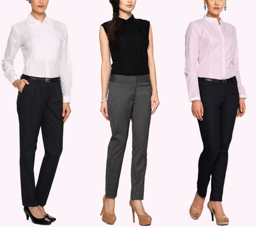 work clothes for women Trousers