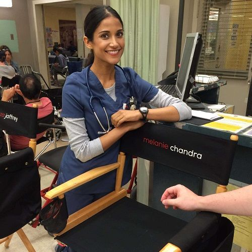 Melanie Chandra in Code Black