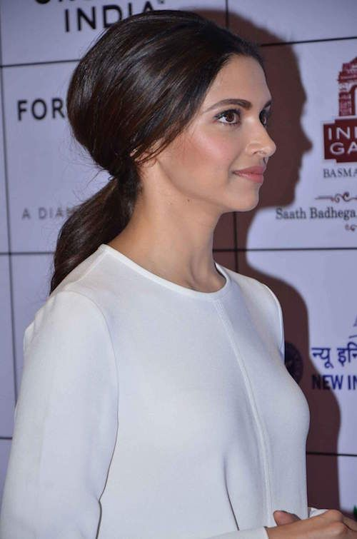 Deepika bouffant- hairstyles for unwashed hair
