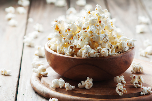 carbs that are good popcorn