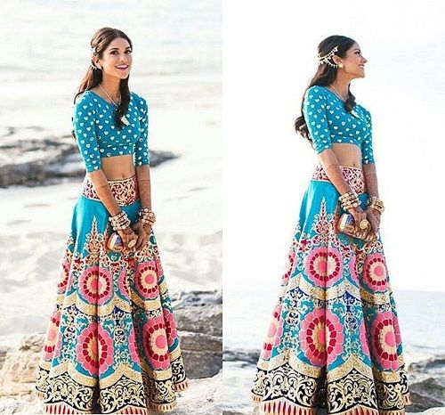 colorful lehenga1