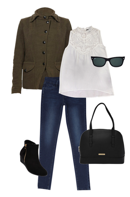 cute outfits for college. 3