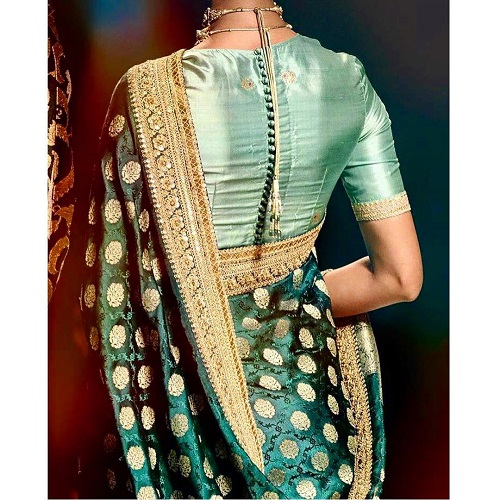 5 blouse designs for shaadi