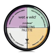 3. Wet n Wild Photo Focus Correcting Palette - Color Commentary