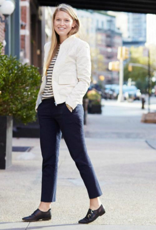 outfits to pair with flat shoes