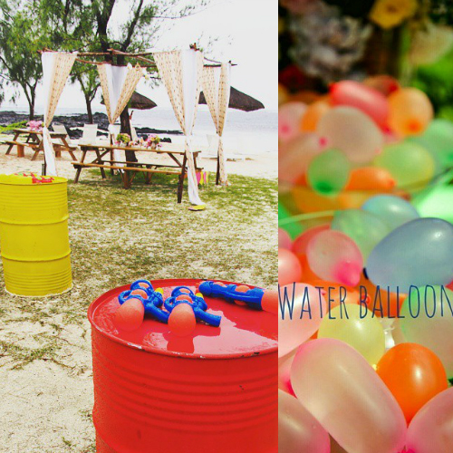 keep your guests cool at a summer wedding