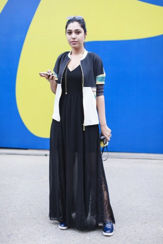 6. Black for summer Vaishali, Editor at Amazon Fashion