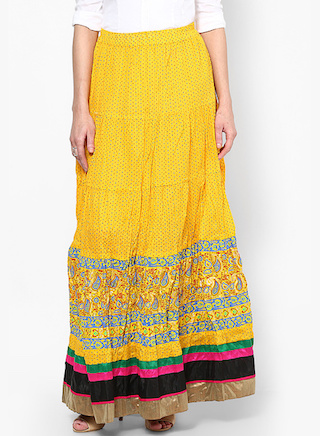 Long Indian Skirts
