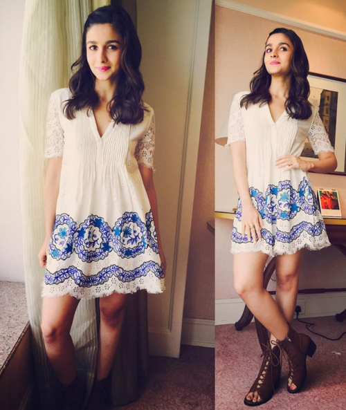 style Indian wear to college