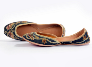 pretty shoes to wear with your lehenga