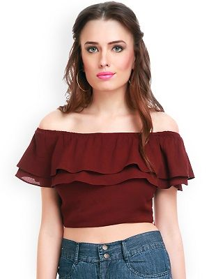 The-Maroon-Madame--off-shoulder-tops-for-women
