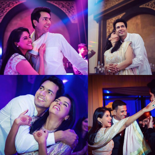 asin and rahul after the wedding 1