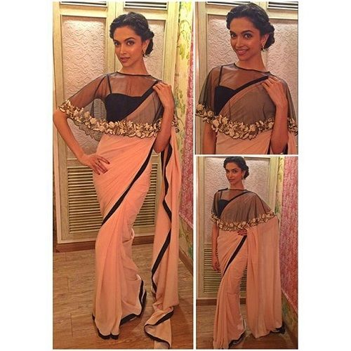 bollywood saree style