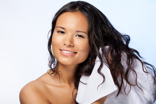rules for air drying your hair